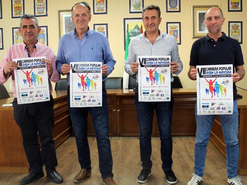 La VII Carrera Popular La Mayora de Albarrobo será a beneficio de AVOI